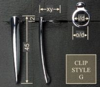 Clip style G